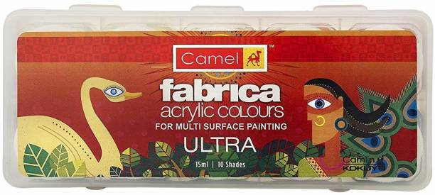 Camel Fabrica Acrylic Ultra Colours - 10 Shades