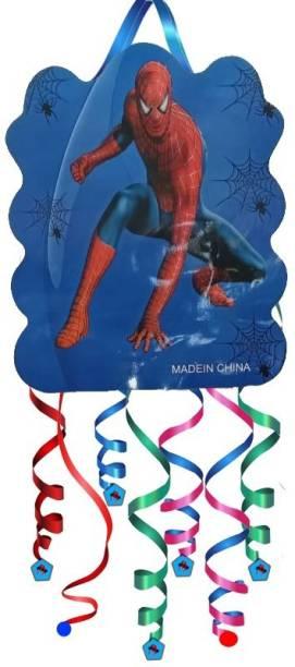 China spider man pinata Pull String Pinata
