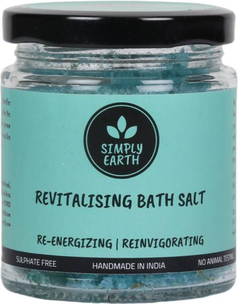 Simply earth Revitalising, Re-energising Bath Salt enriched with Shea Butter