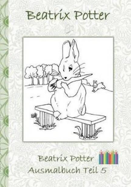 Beatrix Potter Ausmalbuch Teil 5 ( Peter Hase )