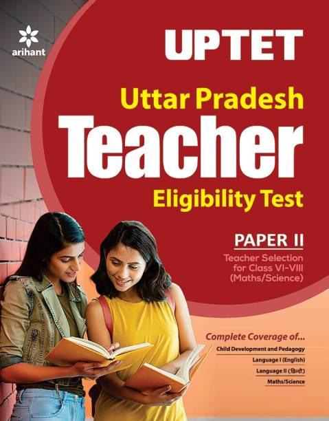 Uptet Paper-II Teacher Selection for Class 6 to 8 Mathematics & Science 2019