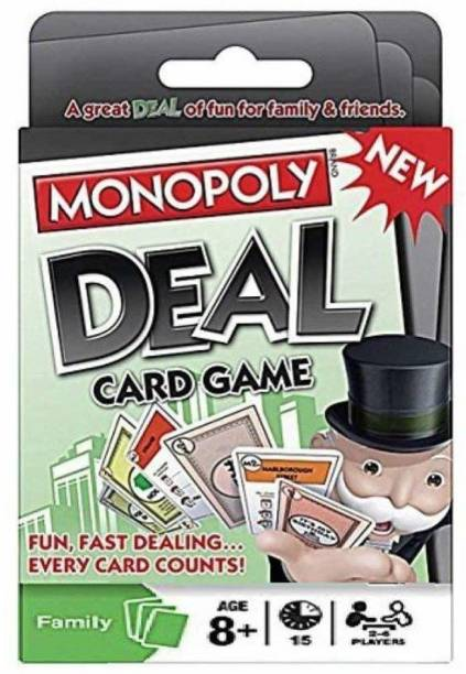 Enorme Deal Card Game, Family and Friends Entertainment Game
