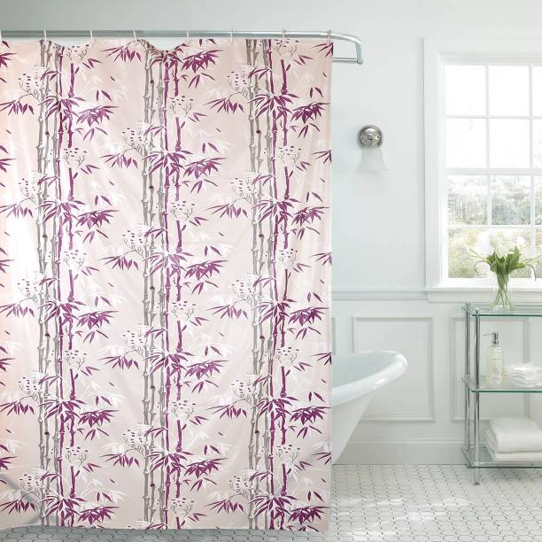 Flipkart SmartBuy 213 cm (7 ft) PVC Shower Curtain Single Curtain