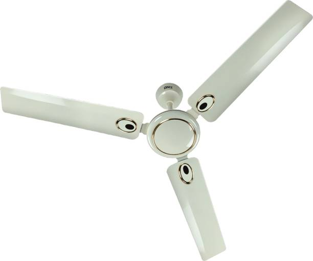 Onix ECO DECOR IVORY 1200 mm 3 Blade Ceiling Fan