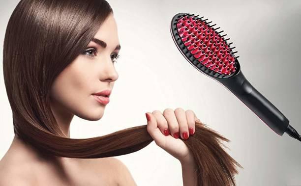 Buyerzone Simply Hair Brush Straightener Hair Styler Hair Straightener Brush