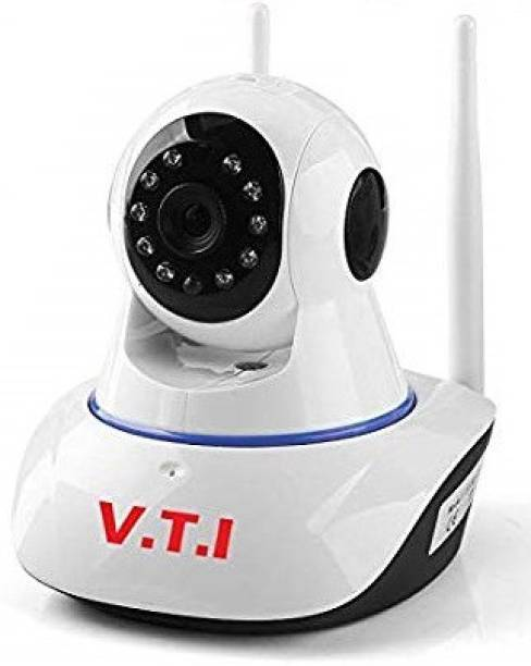 V.T.I IP Dual Antenna WiFi Enabled Indoor Security Camera with Night Vision V380 App enabled Security Camera