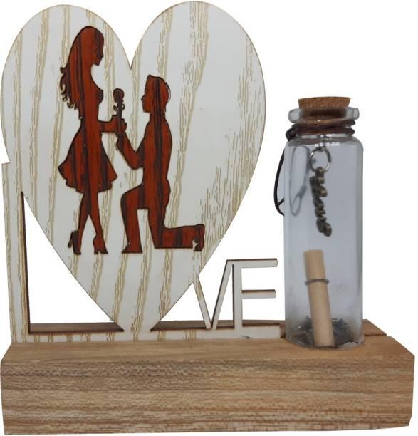 Saugat Traders Roomantic Couple Showpiece Decorative Showpiece  -  15 cm