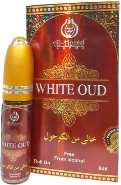 Al-Hamd AROMA White Oud Herbal Attar