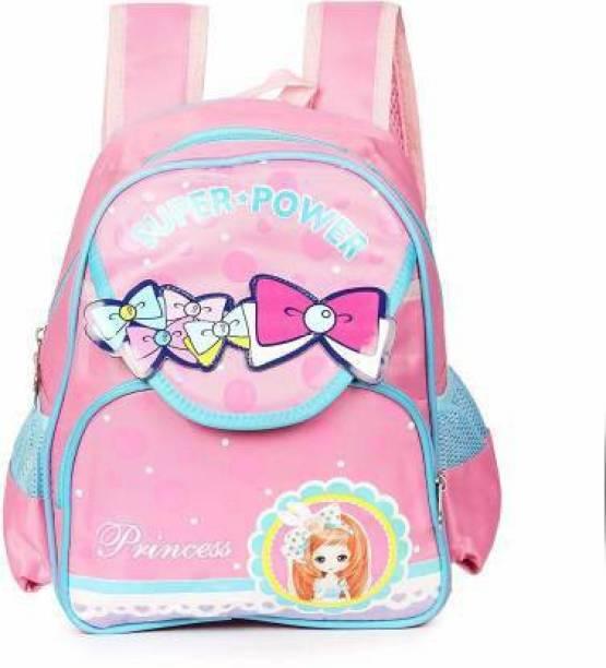 Online World Unisex 1-6 Year-Old Kids School Bag for Kindergarten/Play School/Nursery Waterproof School Bag