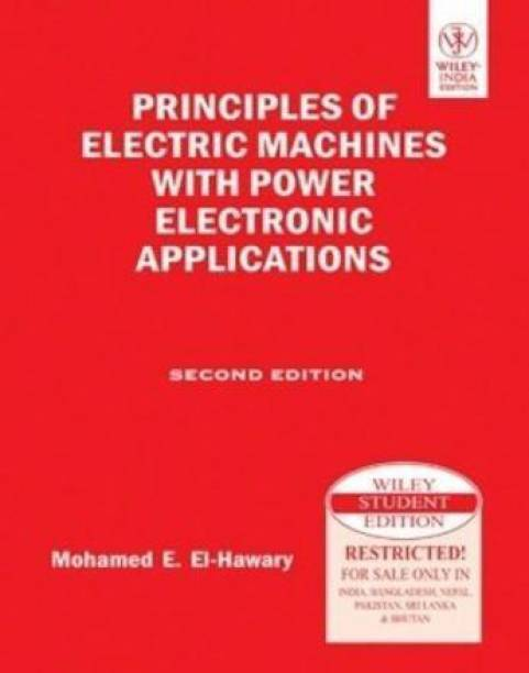 Principles of Electric Machines with Power Electronic Applications, 2nd Ed