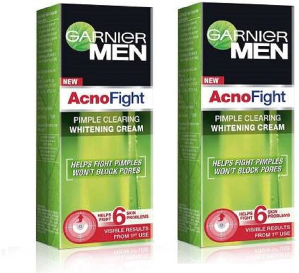 GARNIER Men Acno Fight whitening cream 45G +45G
