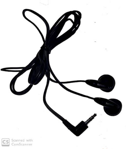 PHILIPS MP3 EARPHONE WITHOUT MIC. Wired without Mic Headset