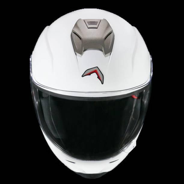 MAVOX FX21 Pristine White Motorbike Helmet