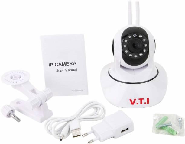 V.T.I V380 Dual antenna wifi camera indoor security camera (white) Security Camera