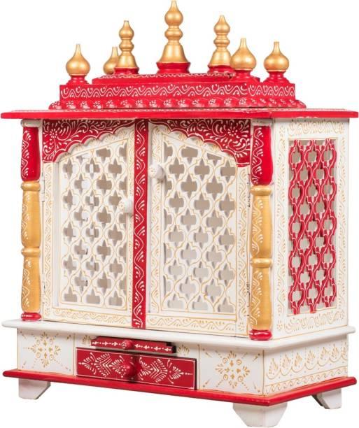 kamdhenu art and craft Engineered Wood Home Temple