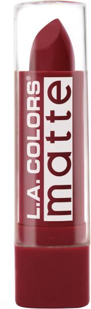 L.A. COLORS Matte Lipstick - Relentless Red