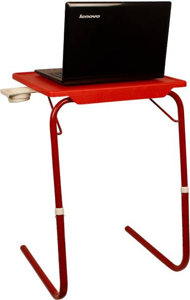 Flipkart SmartBuy Foldable, Adjustable Table Mate R Plastic Portable Laptop Table