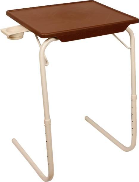 Flipkart SmartBuy Foldable, Adjustable Table Mate C Plastic Portable Laptop Table