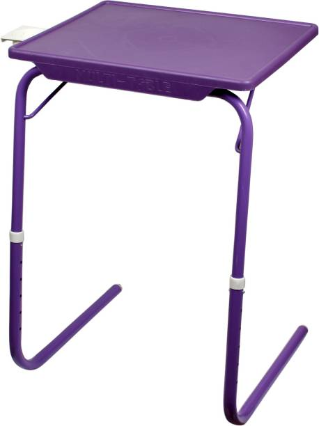 Flipkart SmartBuy Foldable, Adjustable Table Mate L Plastic Portable Laptop Table