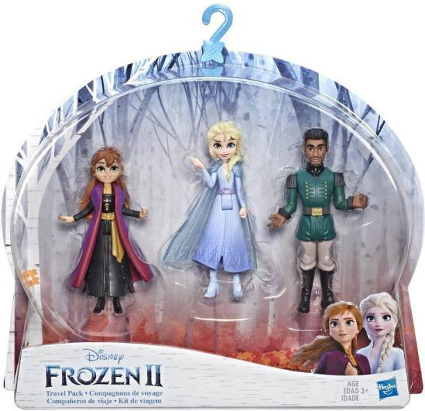 Disney Frozen Anna, Elsa, and Mattias Small Dolls 3-Pack Inspired by the 2 Movie