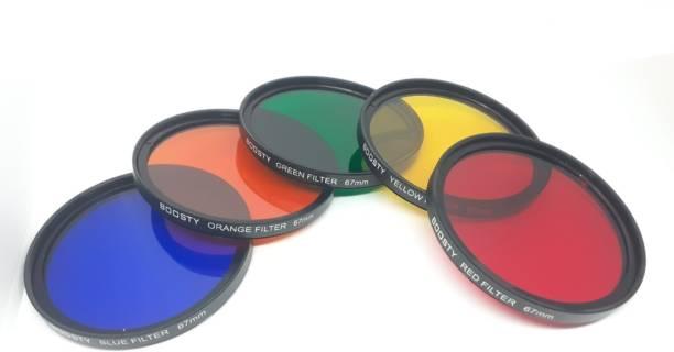 BOOSTY 67mm Color Filter Kit for 7D 700D 600D 70D 60D 650D 550D for D7100 Color Effect Filter