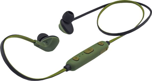 iBall Earwear Sporty Military Green Bluetooth Headset
