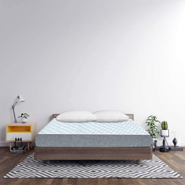 Sleep Spa Oeko Tex Certified Icy Cool Fabric 5 inch Single High Resilience (HR) Foam Mattress