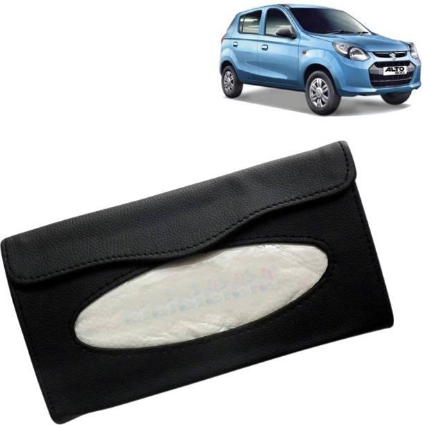 VOCADO 80078542_Car Tissue Box Holder Black Vehicle Tissue Dispenser