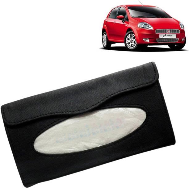 VOCADO PUN78470_Car Tissue Box Holder Black Vehicle Tissue Dispenser