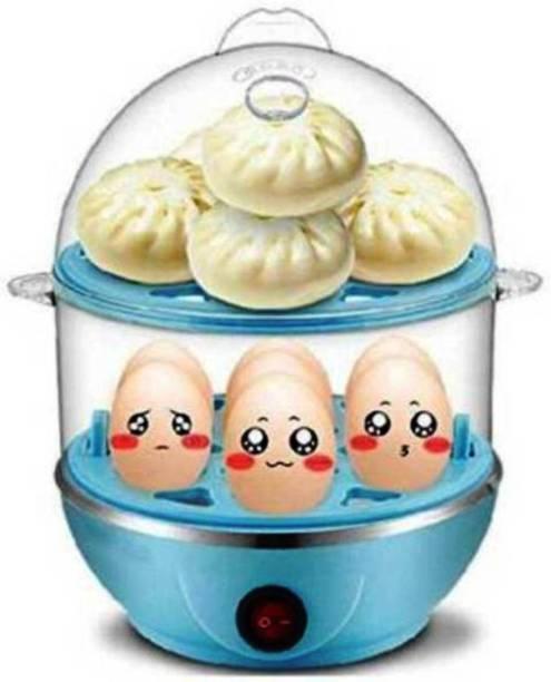 NYALKARAN IMPORT EXPORT Double Layer Electric Egg Boiler NY-EGG Egg Cooker(14 EGGS) EGG BOILER-1 Egg Cooker