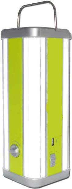 iDOLESHOP 4 Tubes Bright with USB Mobile charging Emergency Light Lantern Emergency Light