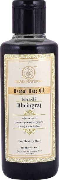 KHADI NATURAL AYURVEDIC BHRINGRAJ HAIR OIL Hair Oil