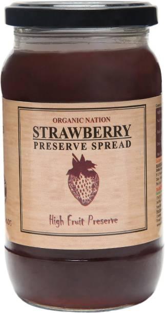 Organic Nation Strawberry Conserve 450 g