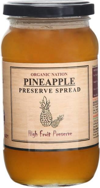 Organic Nation Pineapple Conserve 450 g