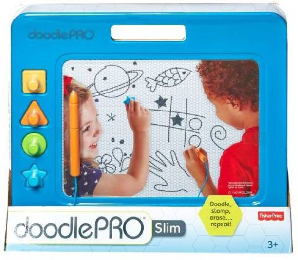 FISHER-PRICE Doodle Pro Slim, Blue CHH59
