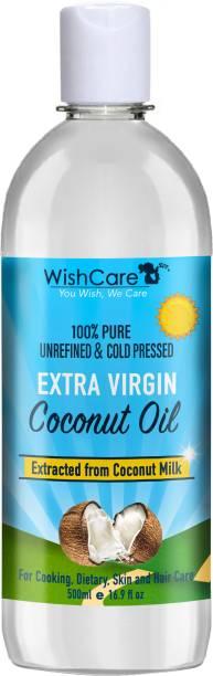 WishCare Premium Cold Pressed Extra-Virgin Coconut Oil