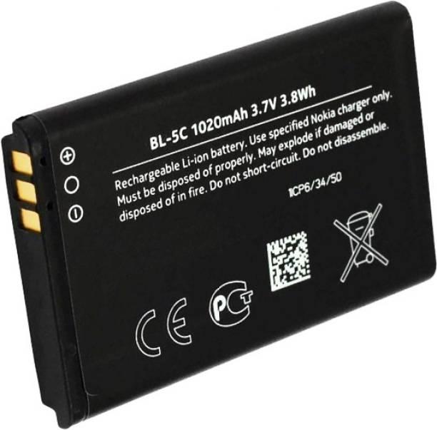 Bailiwick Mobile Battery For  NOKIA Nokia 100, 101, 110, 114, 1100, 1101, 1110, 1112, 1200, 1208, 1209, 1600, 1616, 1650, 1680 classic, 1800, Asha 202, Asha 203, Asha 205, 207, 208, 2300, 2310, 2323 classic, 2330 classic, 2600, 2610, 2626, 2700 classic, 2710 Navigation Edition, 2730 classic, 3100, 3109 classic, 3110 Classic, 3120, 3610 fold, 3650, 3660, 5030 XpressRadio, 5130 XpressMusic, 6030, 6085, 6230, 6230i, 6267, 6270, 6555, 6600, 6630, 6670, 6680, 6681, 6820, 6822, 7600, 7610, C1-00, C1-01, C1-02, C2-00, C2-01, C2-02, C2-03, C2-06, E50, E60, N70, N71, N72, N91, Ngage, Ngage QD, X2-01, X2-05