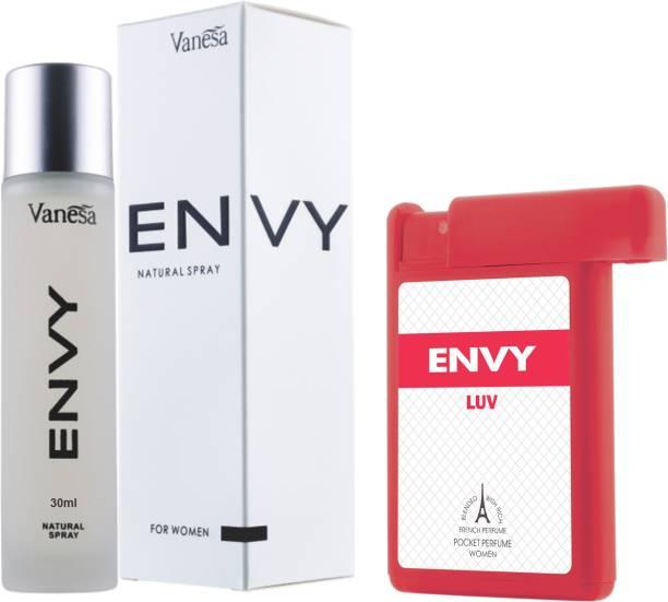 ENVY Women Perfume & Luv Pocket Perfume Combo Perfume  -  48 ml