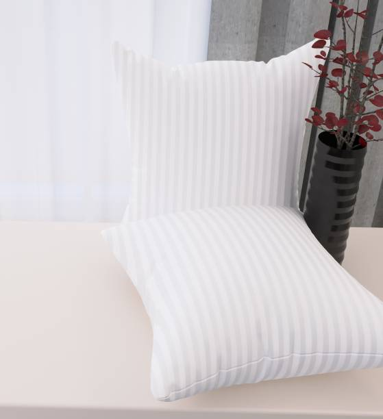 Flipkart SmartBuy Luxury Microfibre Stripes Cushion Pack of 2