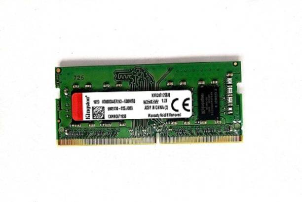 KINGSTON 2400 MHZ DDR4 8 GB (Single Channel) Laptop DDR42400 MHZ RAM 8 GB (DDR 4 RAM 2400 MHZ)