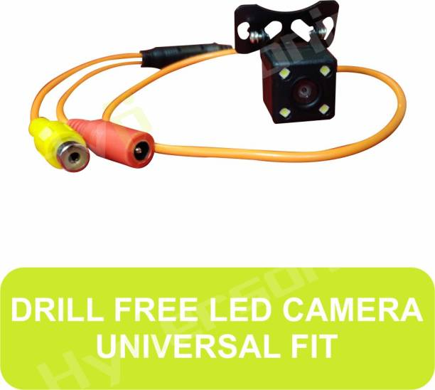 Hypersonic NUMBER PLATE DRILL FREE MOVING CAR REAR VIEW NUMBER PLATE DRILL FREE MOVING CAR Vehicle Camera System