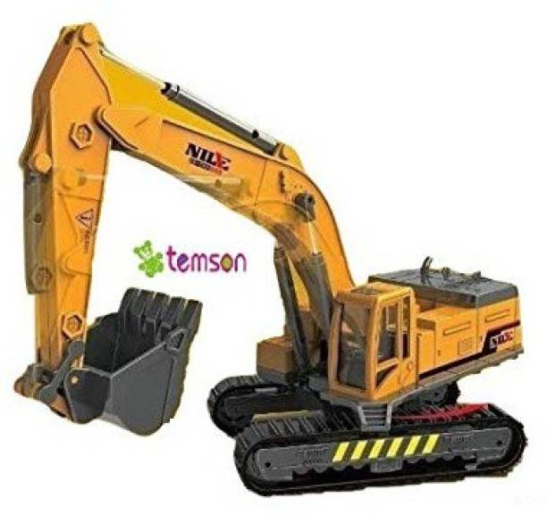 TEMSON Construction Excavator/Digger Machine Toy For Kids (Pack of 1)