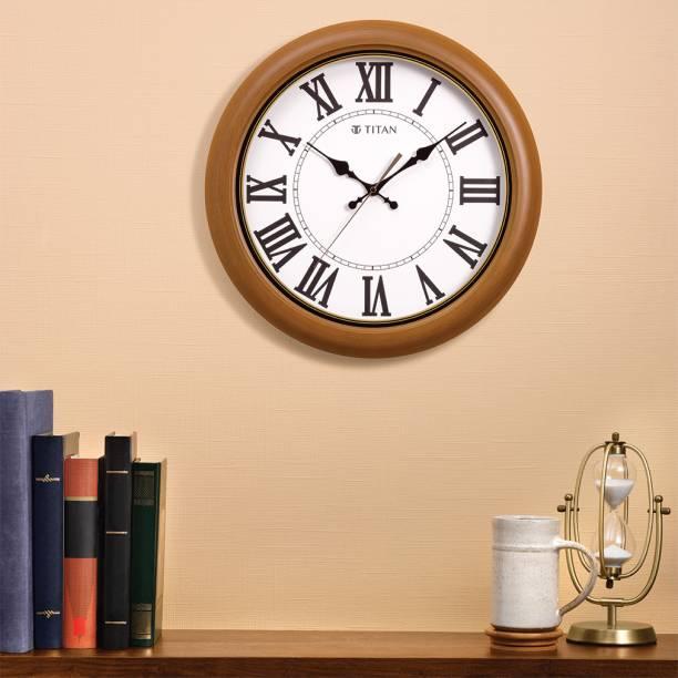 Titan Analog 42 cm X 42 cm Wall Clock