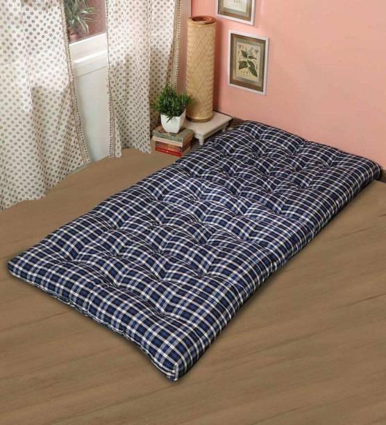 IRA Premium 72 X60 X 4 inches Box Type Cotton Mattress 4 inch Single Cotton Mattress
