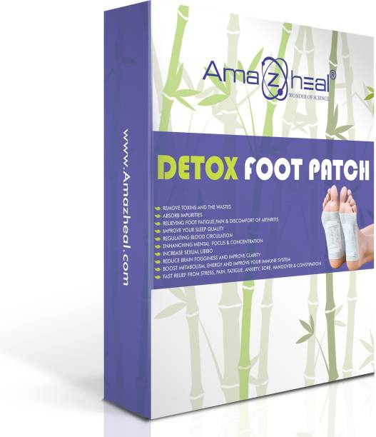 Amazheal Detox Foot Pad, Organic Foot Patches,Toxin Remover (Pack of 20 pcs)