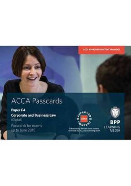 ACCA F4 Corporate and Business Law (Global): Paper F4