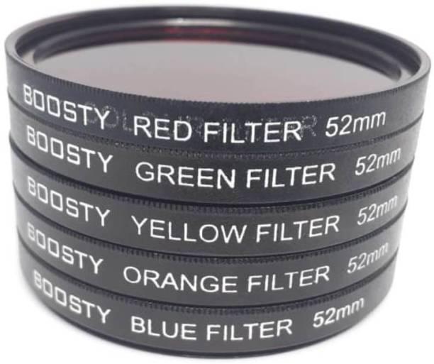 BOOSTY 52mm Color Filter Kit Color Effect Filter