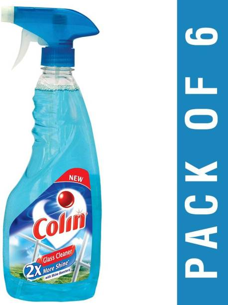 colin Glass and Surface Cleaner with Shine Boosters, Regular - 500ml