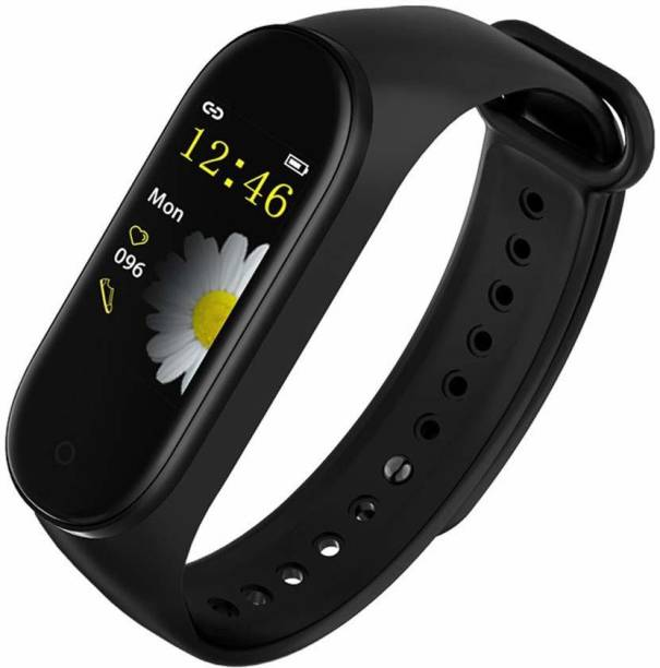 Hypex Touch Color Screen Display Bluetooth Sports Band Fitness Band