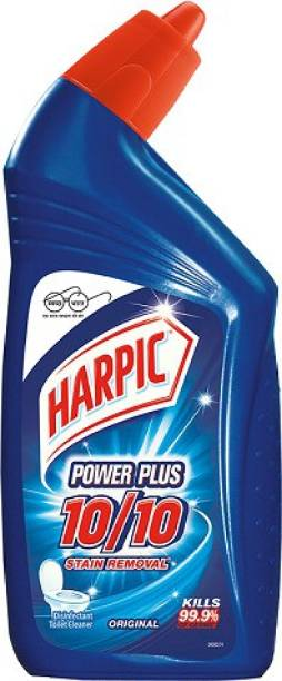 Harpic Fast Selling Power Plus 10/10 Stain Removal Kills 99.9% Of Germs Wild Orchid Liquid Toilet Cleaner